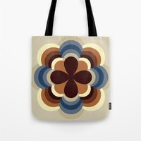 A kind of flower Tote Bag
