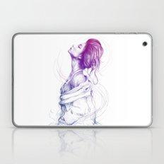 Pretty (Purple) Lady Por… Laptop & iPad Skin