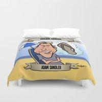 Dream Sandal (Adam Sandler) Duvet Cover