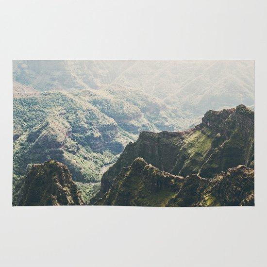 Hawaii Green Area & Throw Rug