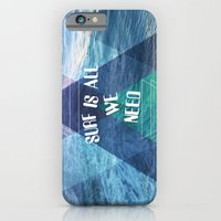 SURF IS ALL  WE NEED  iPhone 6 Slim Case