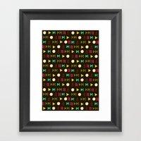 Playpauserecordejectnext… Framed Art Print