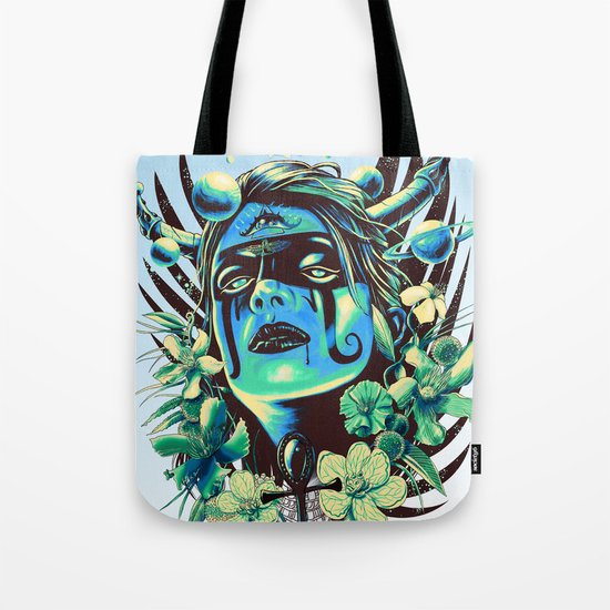 Hathor (Cool) Tote Bag