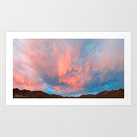 Somewhere Between Hope and Uncertainty Art Print