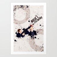 Dream A Little Bigger Art Print