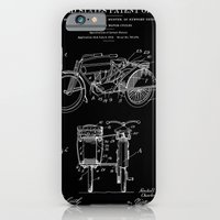 Motorcycle Sidecar Patent 1912 - Black iPhone 6 Slim Case