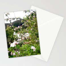 Behind the Flowers! Stationery Cards
