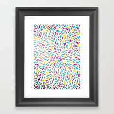 Teardrops Framed Art Print