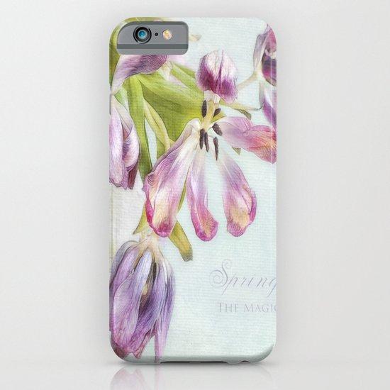 love tulips iPhone & iPod Case