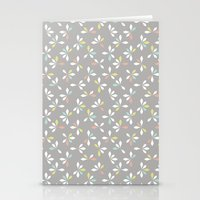 loves me loves me not pattern - pastel Stationery Cards