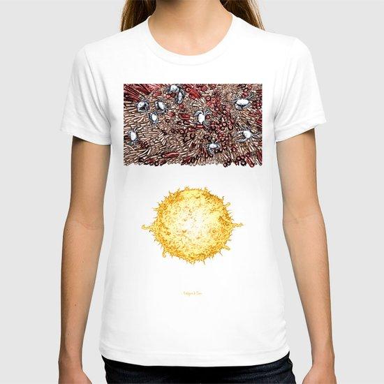 Life on the event horizon 3 T-shirt