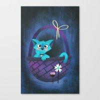 Something Blue Canvas Print