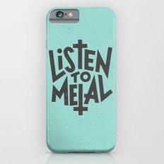 Listen To Metal, V2 Slim Case iPhone 6s