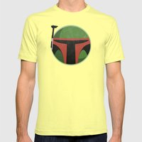 Star Wars VI: Return Of The Jedi Mens Fitted Tee Lemon SMALL