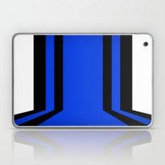 Blue Line Laptop & iPad Skin