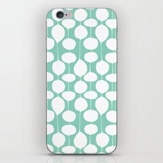 Holiday Bobbles - Festive Teal iPhone & iPod Skin