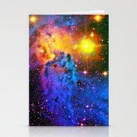 Fox Fur Nebula II Stationery Cards