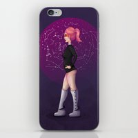 Penelope, the Pin-Up Space Cadet 2 iPhone & iPod Skin