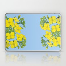 Summer flower in yellow Laptop & iPad Skin