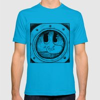 The Look Mens Fitted Tee Teal SMALL