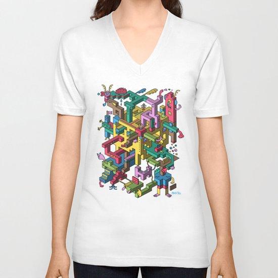 Shilton's Fleas V-neck T-shirt