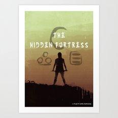 The Hidden Fortress Art Print