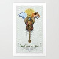 WE GOVERN WE // Lionsand… Art Print