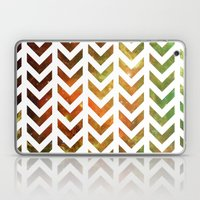 Nebula Chevrons Laptop & iPad Skin