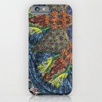 Psychedelic Botanical 6 iPhone 6 Slim Case