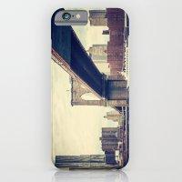 Vintage Brooklyn Bridge iPhone 6 Slim Case