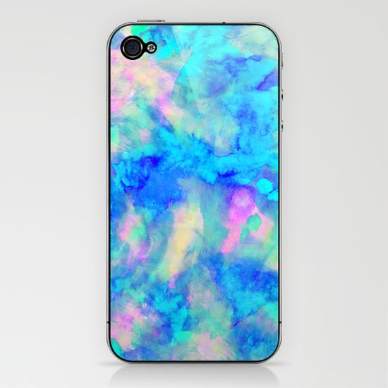 Electrify Ice Blue iPhone & iPod Skin