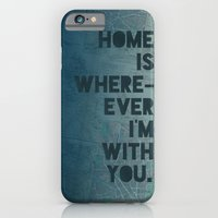 iPhone & iPod Case featuring Home is with You by Leah Flores