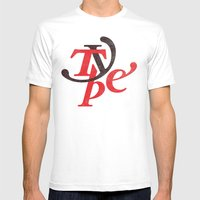 Type Mens Fitted Tee White SMALL