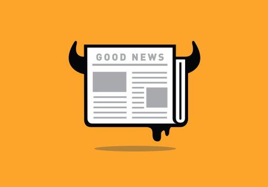 Good News For People Who Love Bad News Canvas Print