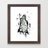 Dettol Framed Art Print