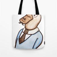 Mr. Platypus Tote Bag