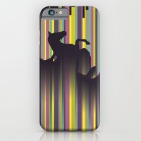 iPhone & iPod Case featuring Olympic Horse Riding by Mel Smith Designs...