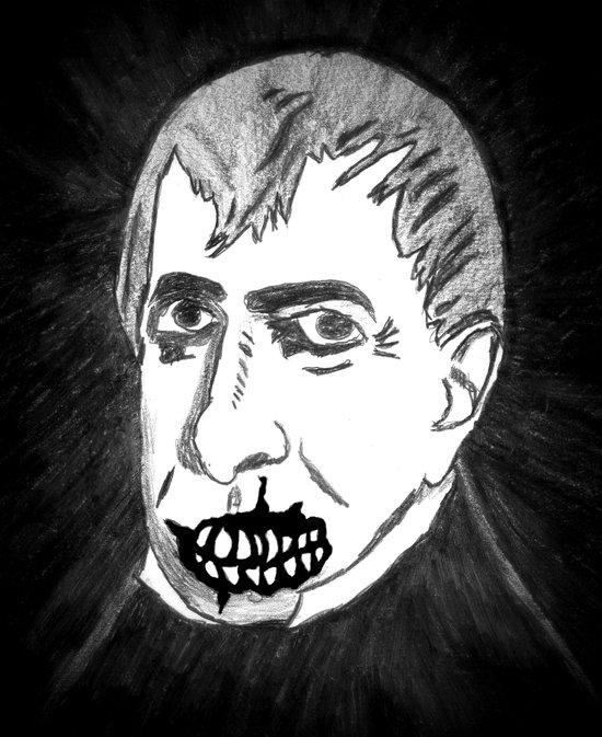 09. Zombie William Harrison  Art Print