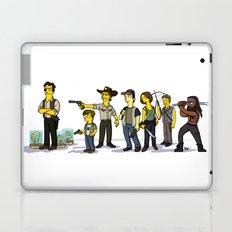The Walking Dead cast Laptop & iPad Skin