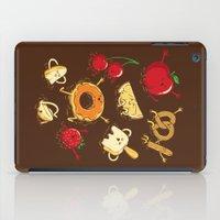 Chocolate Dip Party iPad Case