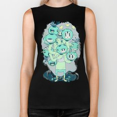 Many Heads are Better than None Biker Tank