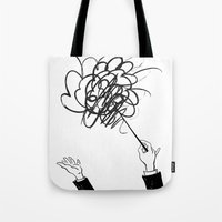 downbeat??  find my beat! Tote Bag