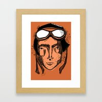 Howard Framed Art Print