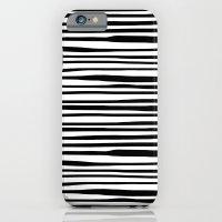 Zebra stripes iPhone 6 Slim Case