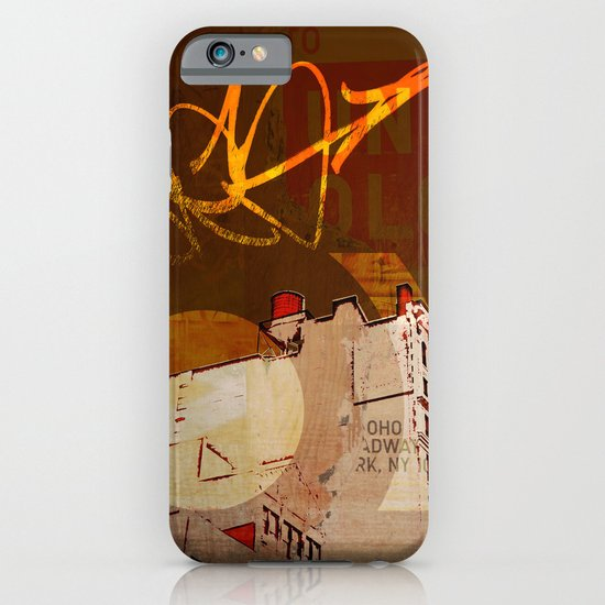 NYC Rooftops iPhone & iPod Case