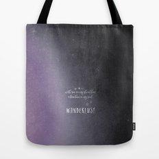 wander {violet Tote Bag