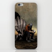 The Angel And The Skull iPhone & iPod Skin