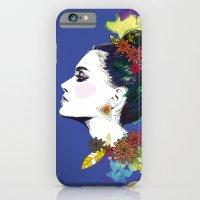 Blue Bun  iPhone 6 Slim Case