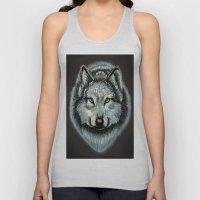 Lone Wolf Unisex Tank Top