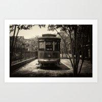 Streetcar Named Desire - New Orleans 1988 Art Print